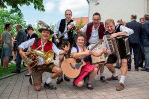 Bayerische Hochzeitsband Partyband für Hochzeit